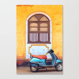 Travel photography made in India. Canvas Print