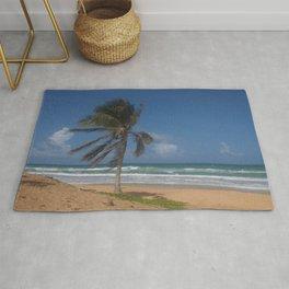 Karon Beach palm tree Rug