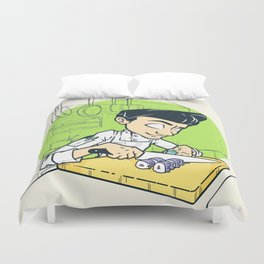 Cook Life Duvet Cover