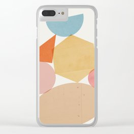 Abstraction_Balances_006 Clear iPhone Case