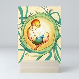 Tangled Thoughts Mini Art Print