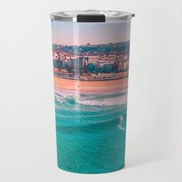 Bondi Beach, Sydney - Australia Aerial Photograph Travel Mug