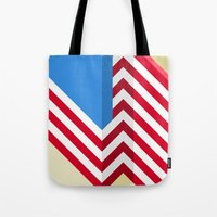 flag Tote Bags featuring Flag by Ryan Winters