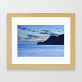 Vela tower. Cabo de Gata Framed Art Print