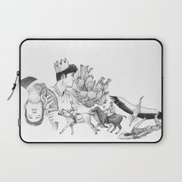 Ink Thoughts Three Laptop Sleeve