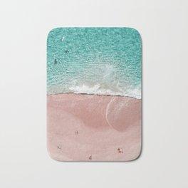 Pink Vacation Bath Mat