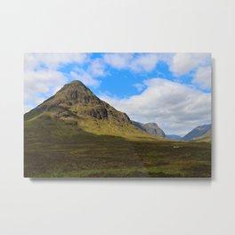 Highland Green Metal Print