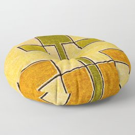 Protoglifo 08 Green sprout Floor Pillow