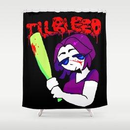 ILLBLEED Shower Curtain