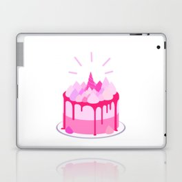 Berry cake with meringues and a horn Laptop & iPad Skin