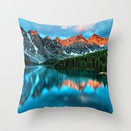 Lake Louise - Alberta, Canada Landscape Throw Pillow