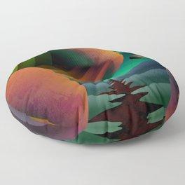 Planet Path Floor Pillow