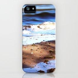 Waves Sand Stones iPhone Case