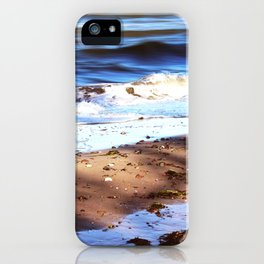 Waves Sand Stones iPhone Case