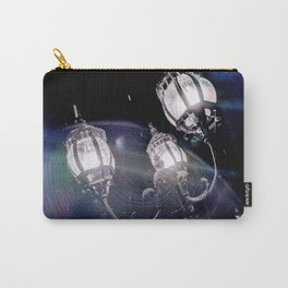 Frosted Lanterns Carry-All Pouch