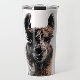 FLUFFY LAMA Travel Mug