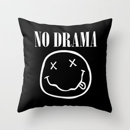 No Drama Throw Pillow