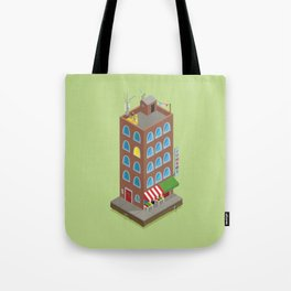 Jumbo's Building Tote Bag