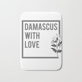 DAMASCUS WITH LOVE Bath Mat