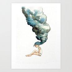 Fluid Mind Art Print