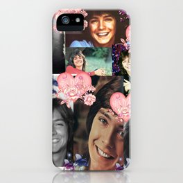 David Cassidy - Butterfly Kisses N Hearts iPhone Case
