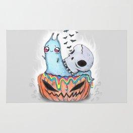 halloween snail Rug