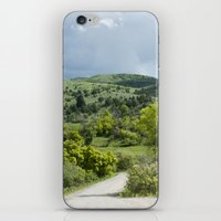 running iPhone & iPod Skins featuring Running  by Julie Luke