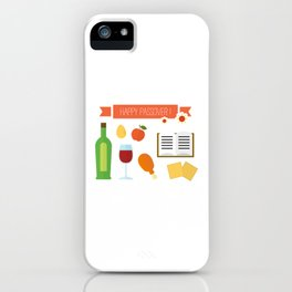 Happy Passover Day iPhone Case