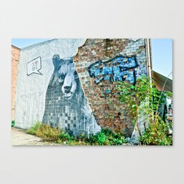 I love Berlin Canvas Print