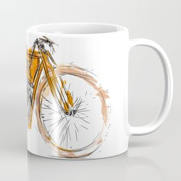 Flying Merkel Coffee Mug