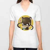 arya V-neck T-shirts featuring Lily by Arya
