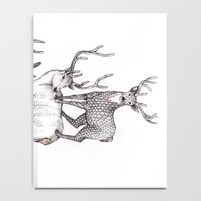 A pile of stags Notebook