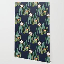 Dark Cactus Desert Wallpaper
