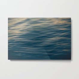 Waves Metal Print