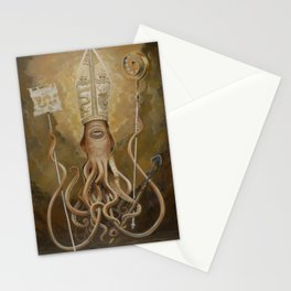 Blessed Saint Architeuthis Stationery Cards