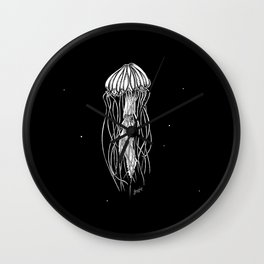 Life of a Jellyfish Wall Clock