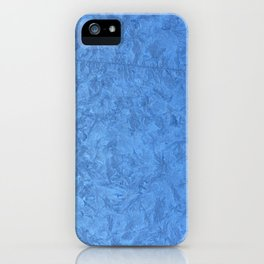 Winter Christmas Blue Window iPhone Case