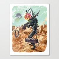 prometheus Canvas Prints featuring Prometheus by Logan  Faerber
