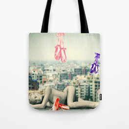 Sleeping Spirit Tote Bag