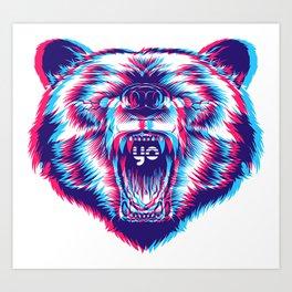 yo bear Art Print