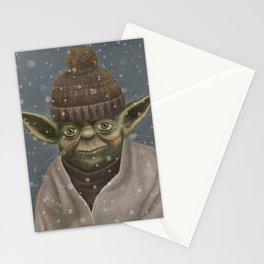 Christmas Yoda Stationery Cards