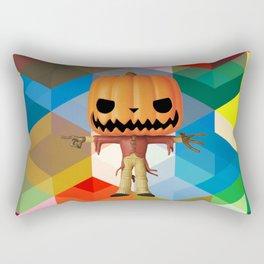The Lord Disco Halloween Pumpkin   Scary   Fun   Kids Room Project Rectangular Pillow