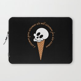 I Scream Cone Laptop Sleeve