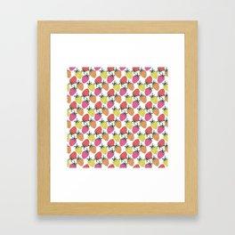 Strawberry mix Framed Art Print