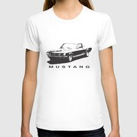 mustang T-shirts featuring Mustang Design by YsfKara