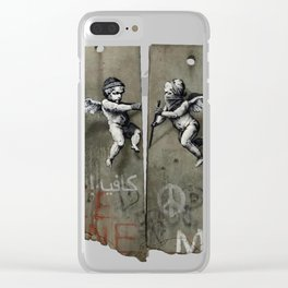 Separation Barrier Clear iPhone Case