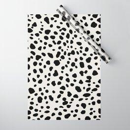 Polka Dots Dalmatian Spots Wrapping Paper