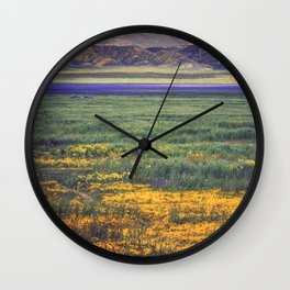 The Artistry of Nature Wall Clock
