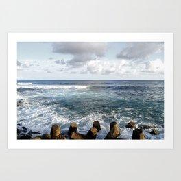 Wave Tone Art Print