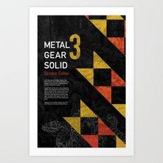 Metal Gear Solid 3: Snake Eater Art Print